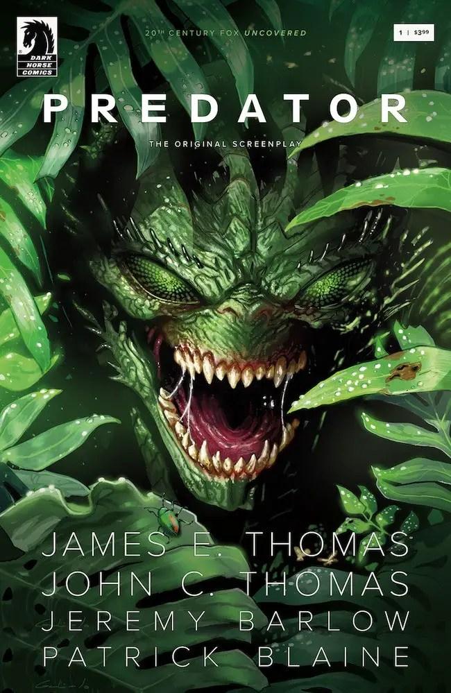 "First Alien and now Dark Horse Comics to adapt ""Predator: The Original Screenplay"""