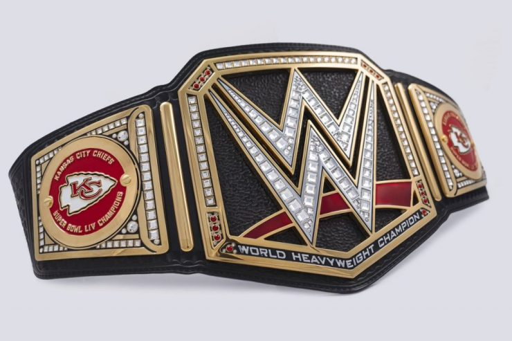Triple H sends Kansas City Chiefs custom WWE Championship