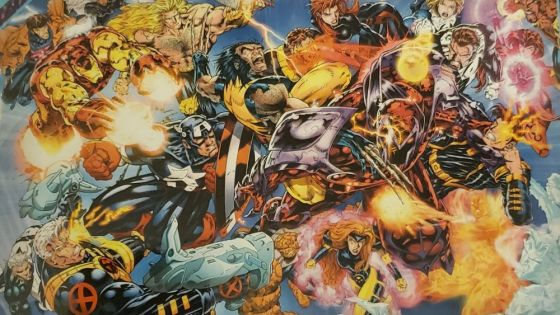 X-Men/Avengers: Onslaught is a compilation of X-Men and Avengers stories in 1996 featuring one mystery villain: Onslaught.