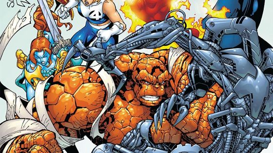 A strange and sometimes wacky era for the Fantastic Four written by Chris Claremont.