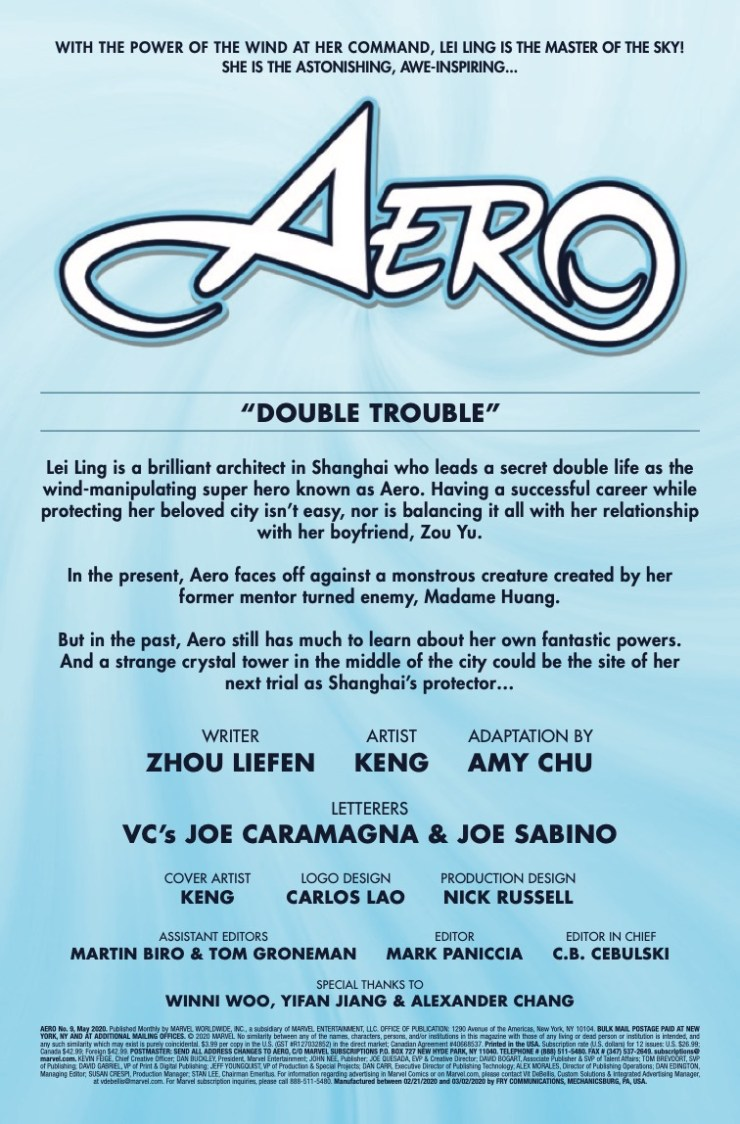 Marvel Preview: Aero #9