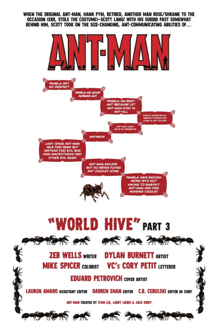 Marvel Preview: Ant-Man #3
