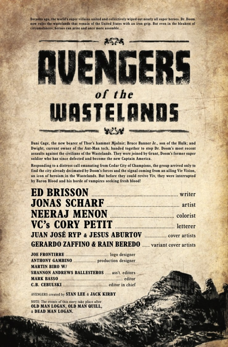 Marvel Preview: Avengers of the Wasteland #3