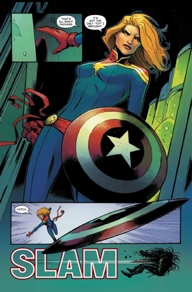Captain Marvel #16 Review