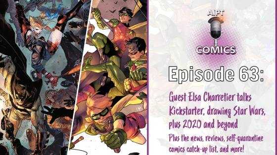 A discussion on the latest news including coronavirus's impact on comics, how to help your local LCS, and more.
