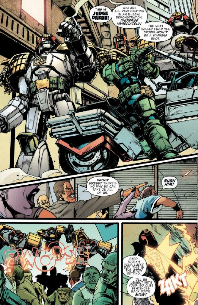Judge Dredd: False Witness #1 Review