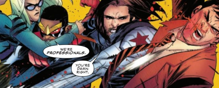 Falcon & Winter Soldier #2 Review