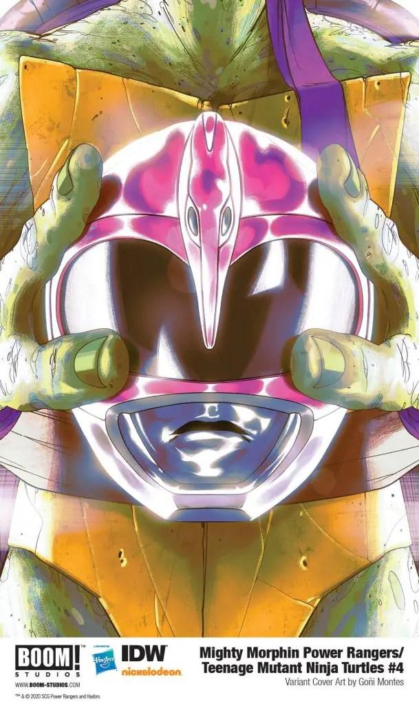 BOOM! Preview: Mighty Morphin Power Rangers/Teenage Mutant Ninja Turtles #4