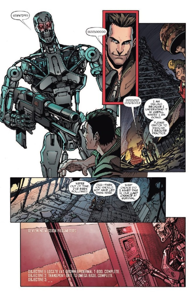Transformers vs. Terminator #1 Review