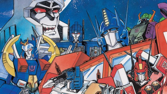 The Transformers manga, now with English translations for the first time...ever!