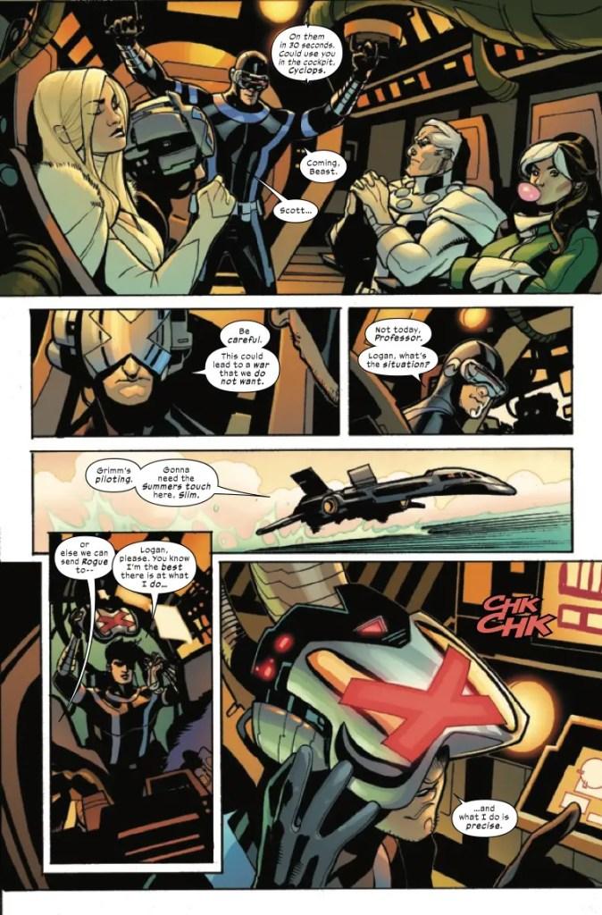 Marvel Preview: X-Men + Fantastic Four #3