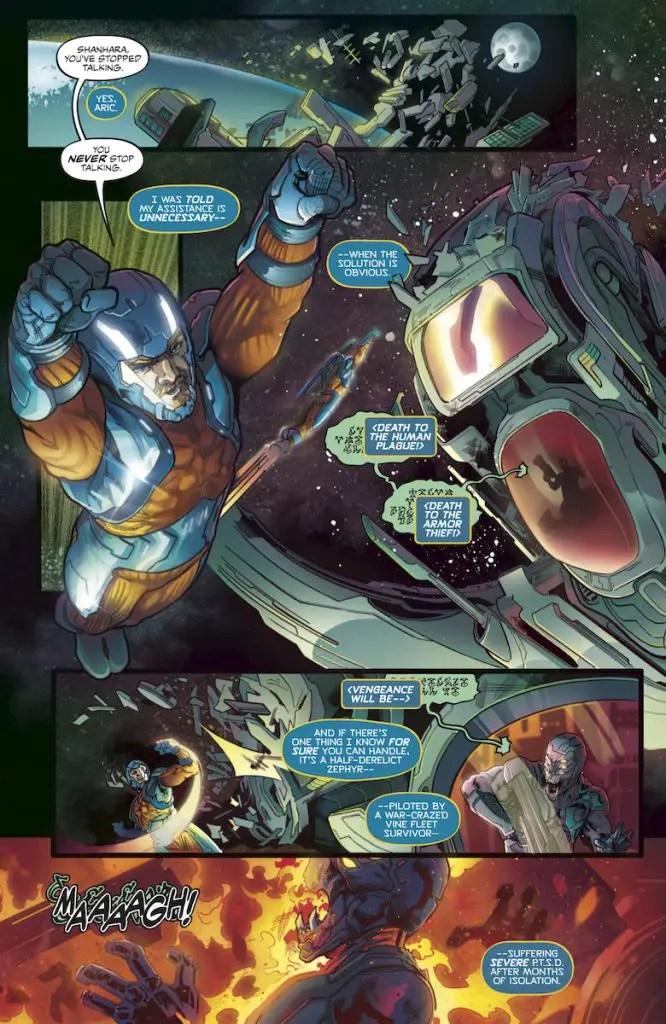 X-O Manowar #1 review: Friendly Neighborhood... X-O Manowar?