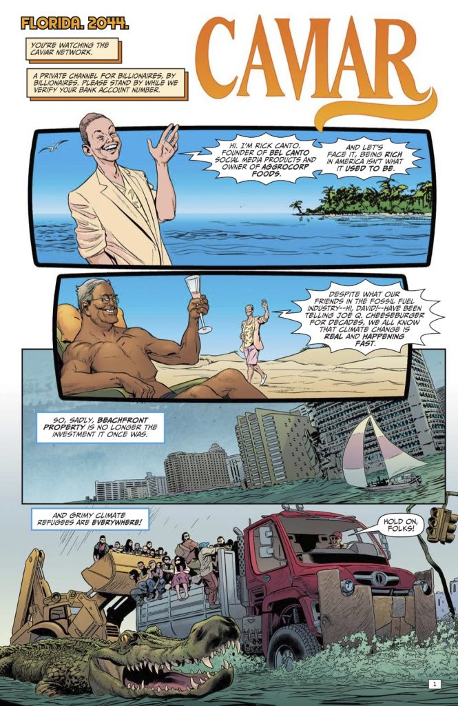 Billionaire Island #1 Review