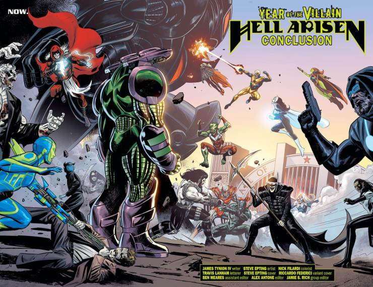 DC Preview: Justice League: Hell Arisen #4