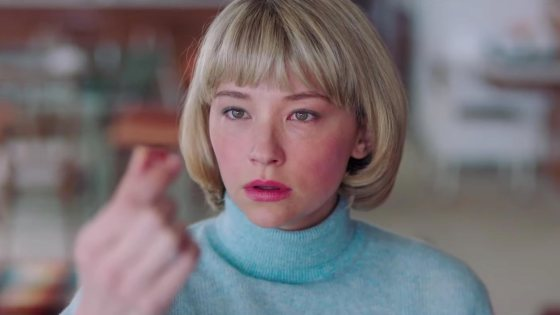 Swallow, through a vivid use of both beautiful and hideous imagery, shows how maybe a girl really can have it all if she pretends to want what life throws at her.