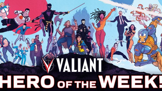 Valiant offering daily new content online, giveaways, and more.