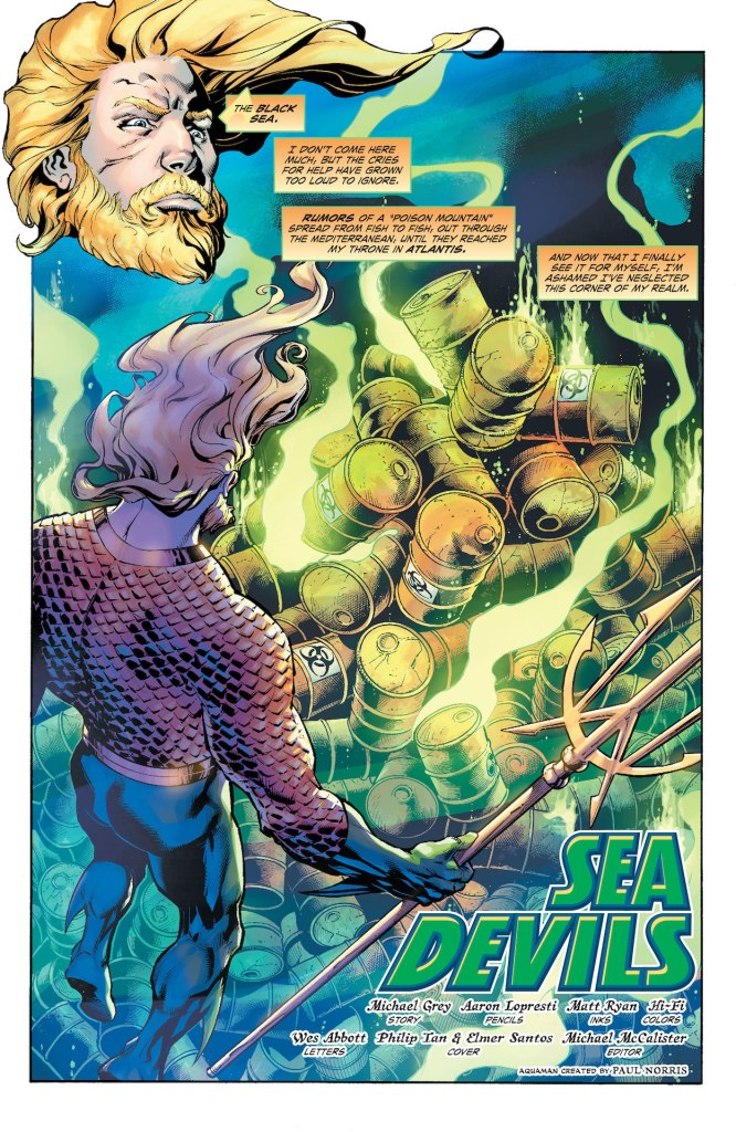 DC Preview: Aquaman: Deep Dives #2