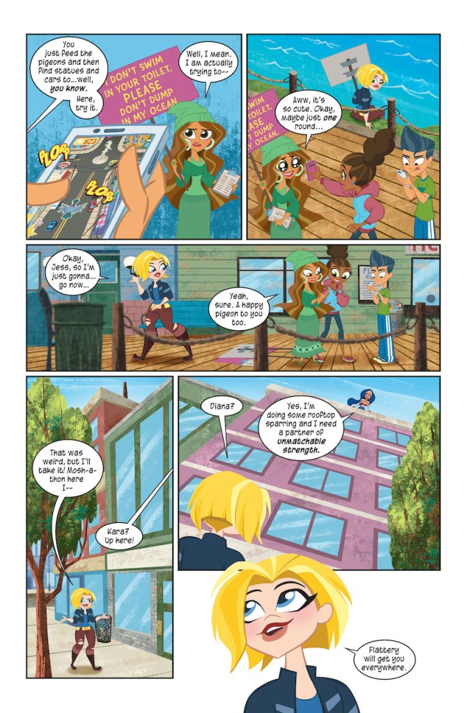 DC Preview: DC Super Hero Girls: Infinite Frenemies #1