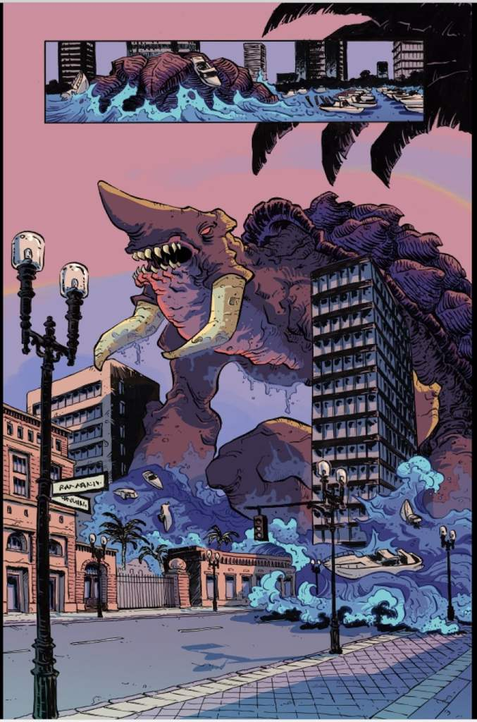 AfterShock Preview: The Kaiju Score