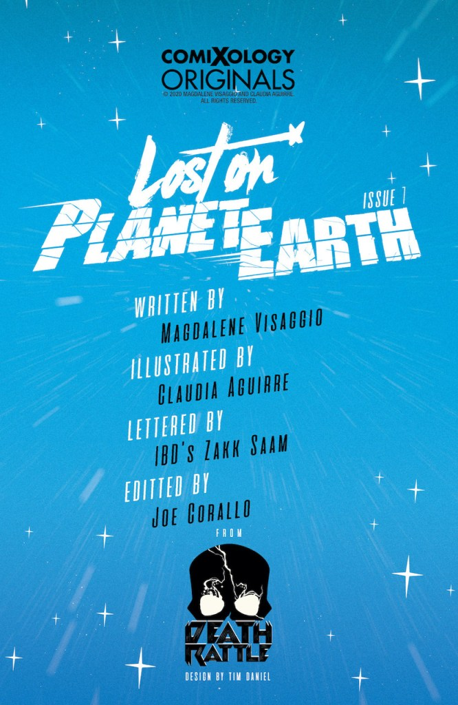 ComiXology Preview: Lost on Planet Earth #1