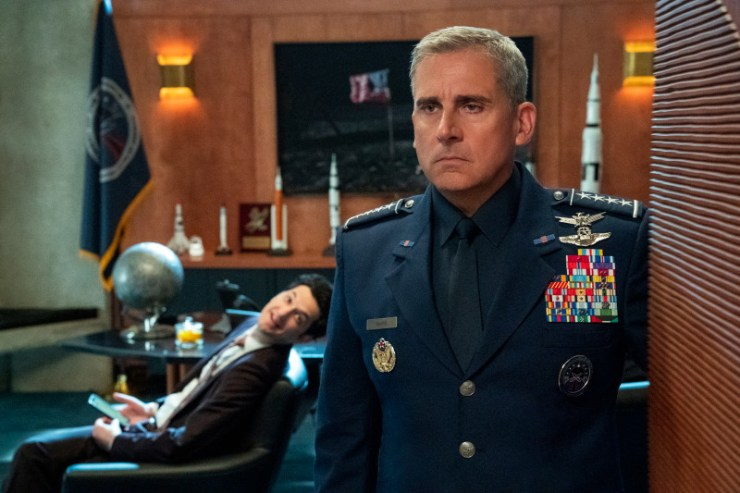Netflix sets release date for new Steve Carell comedy, 'Space Force'