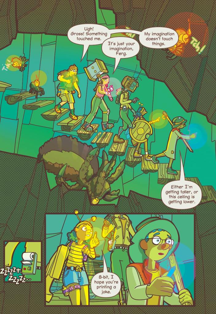 DC Preview: My Video Game Ate My Homework: A Graphic Novel