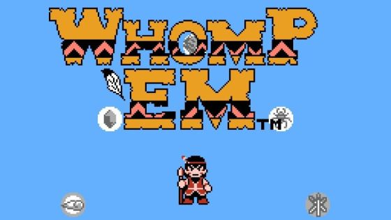 Retro Review: Whomp 'Em (NES)