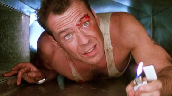 Die Hard on Adventures in Movies