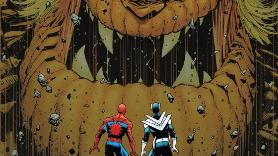 The Amazing Spider-Man vs. a giant alien, who ya got?