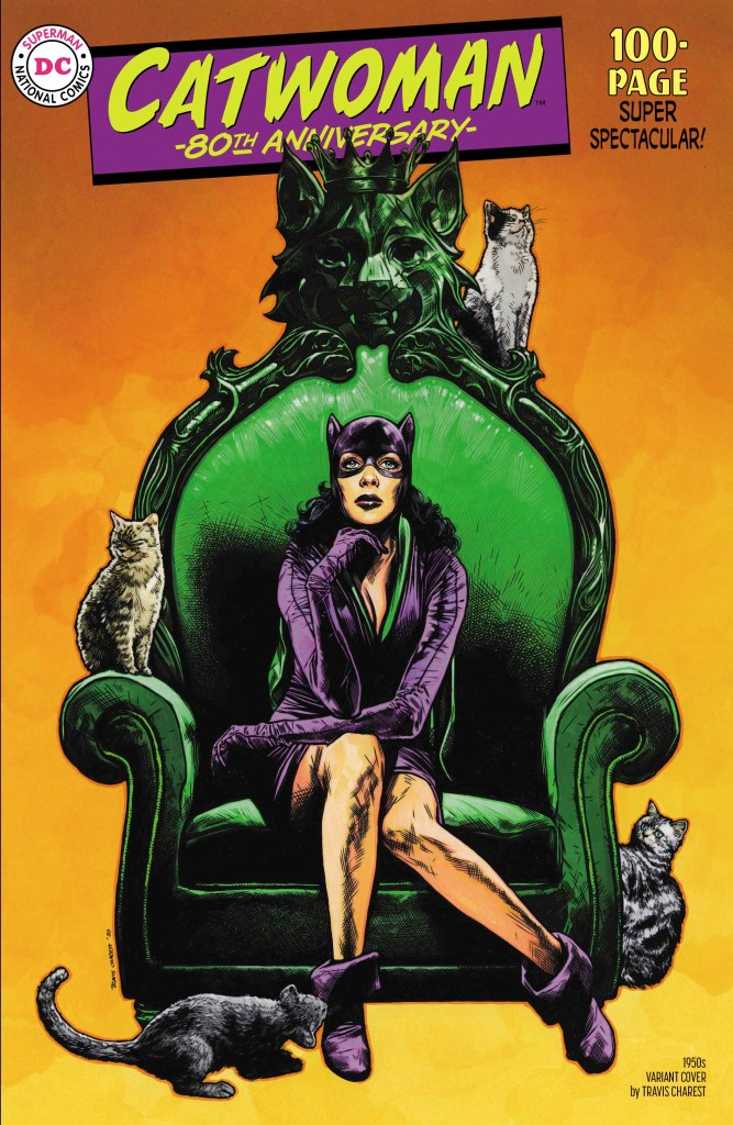 DC is celebrating the 80th anniversary of Catwoman in a big way.