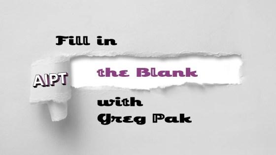 Fill in the Blank: Greg Pak