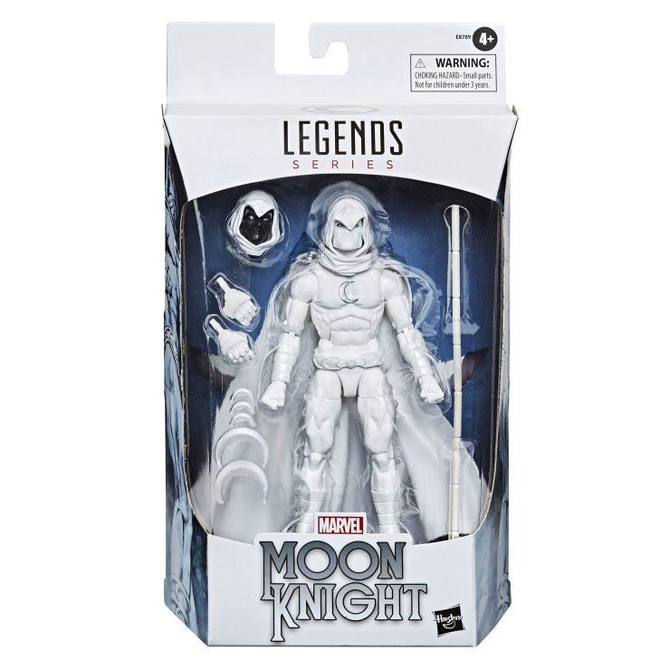 Marvel Legends Classic Moon Knight packaged
