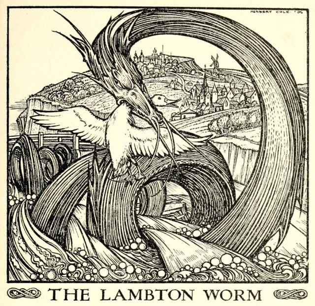Dragon, legend, or cryptid? The legacy of the Lambton Worm