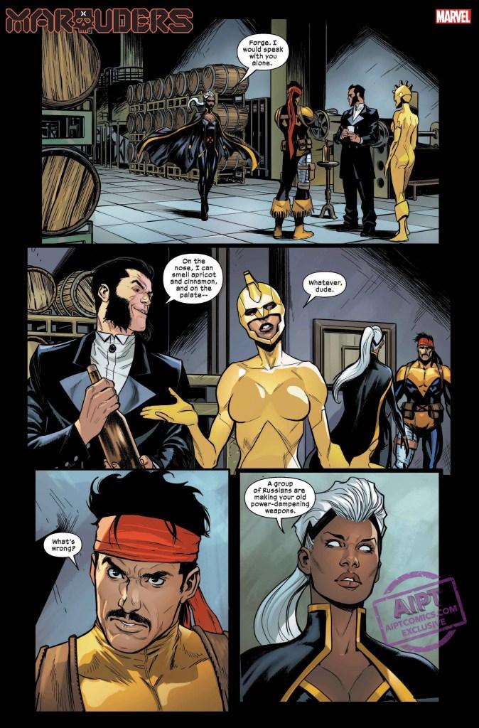 Marauders #10 Marvel Comics