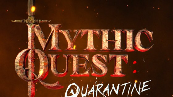 The Mythic Quest team is locked down just like everyone else, but the show must go on.