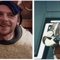 'The Mandalorian': Simon Pegg makes his case to play bounty hunter Dengar
