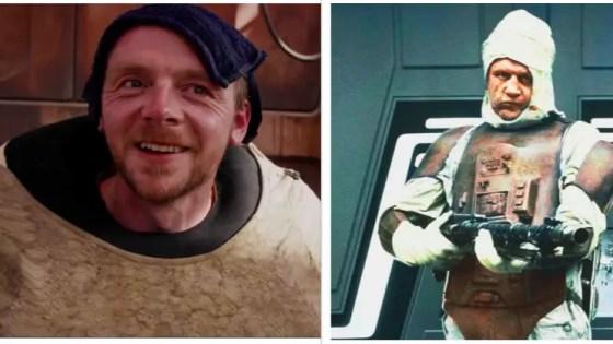'The Mandalorian' Simon Pegg