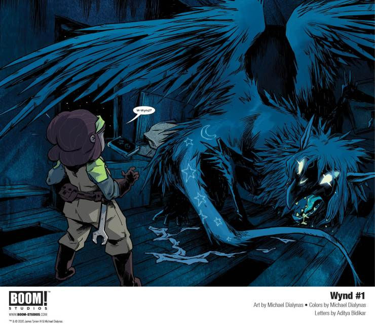 BOOM! Preview: Wynd #1 by James Tynion IV, Michael Dialynas, and Aditya Bidikar