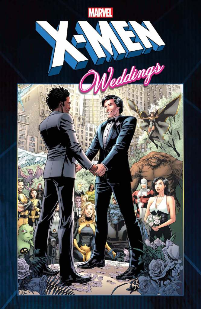 Marvel Comics X-Men Weddings