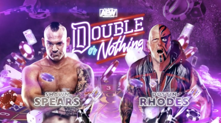 AEW Double or Nothing - Shawn Spears vs. Dustin Rhodes