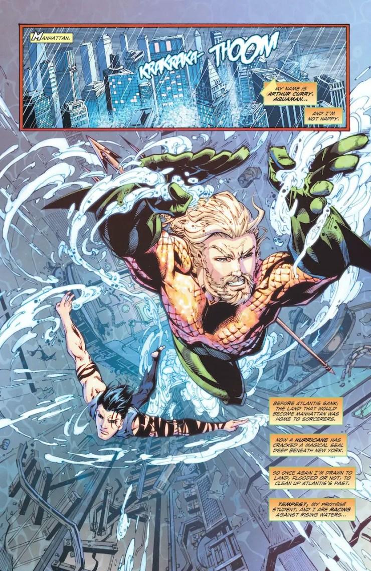 DC Preview: Aquaman: Deep Dives #3