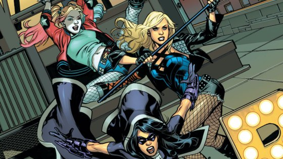 DC Preview: Birds of Prey: Sirens of Justice #1