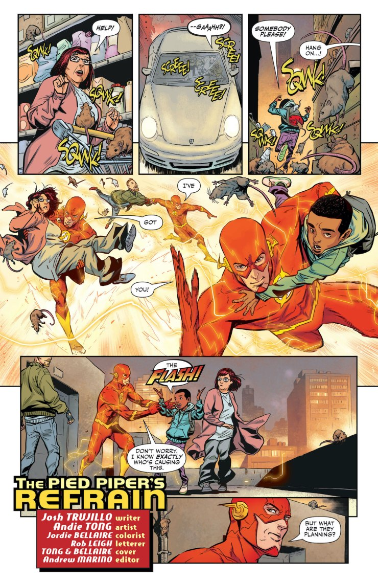 DC Preview: The Flash: Fastest Man Alive #7