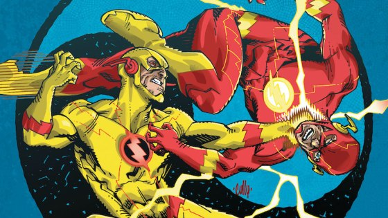 It's a race through all of time as the Flash tries to get the upper hand against Eobard Thawne!
