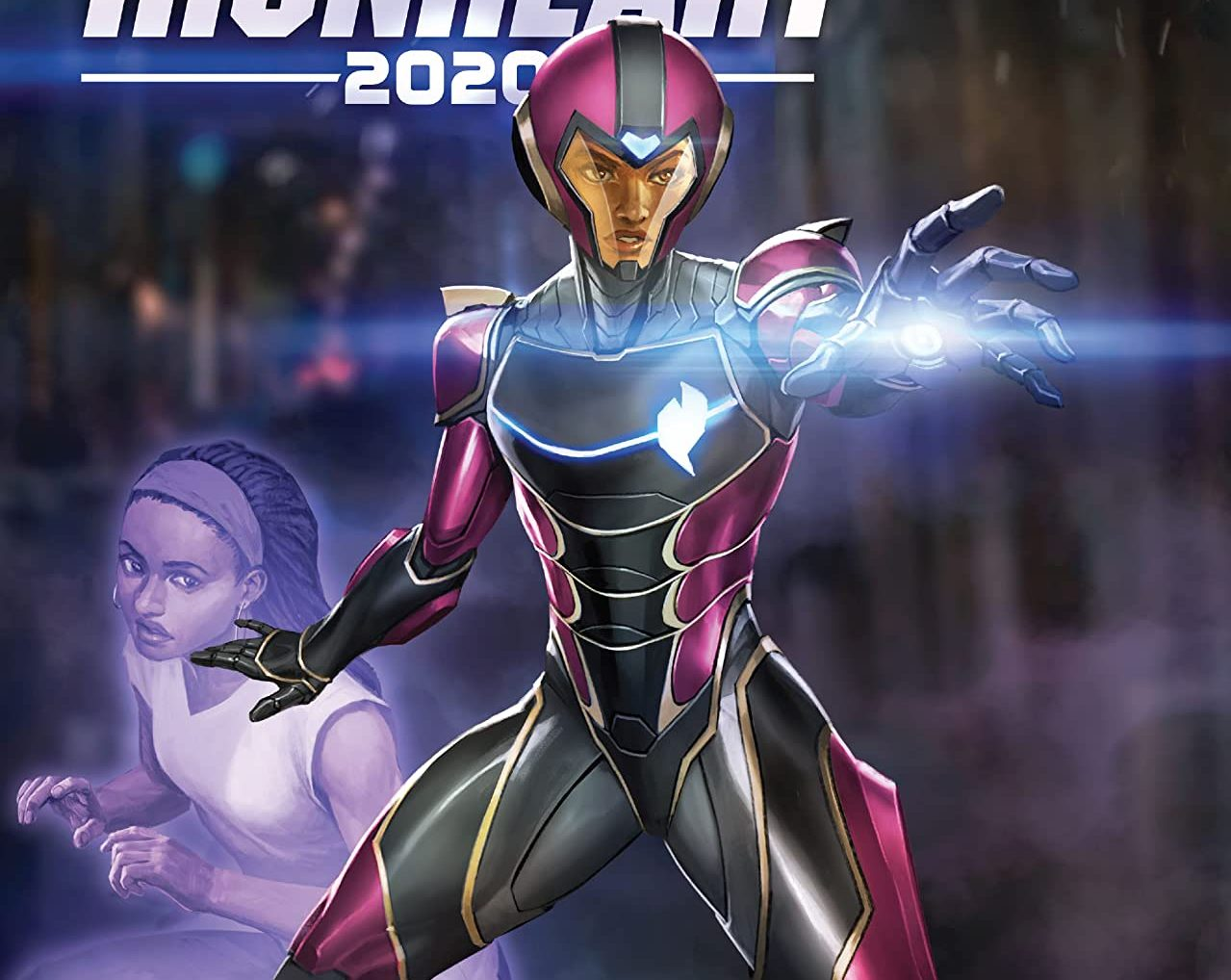 Ironheart cant wear her super suit as she's too young, but that won't stop her from being a hero.