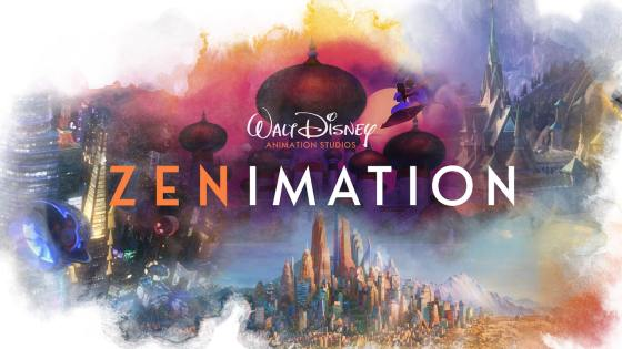 Get your zen on with the new 10-part animated short-form series Zenimation.