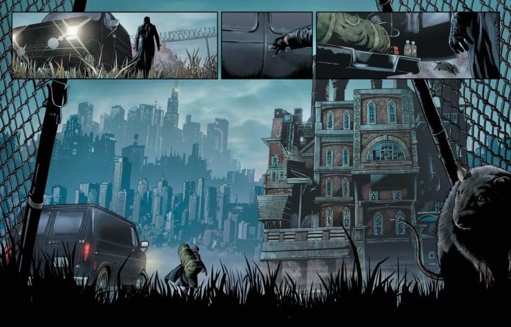 DC Preview: Joker Harley Criminal Sanity #4