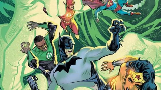 Justice League #45 panel