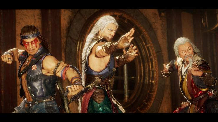 Mortal Kombat 11 Aftermath - Shang Tsung, Nightwolf, Fujin