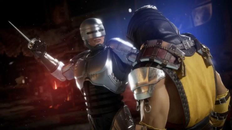 Mortal Kombat 11 Aftermath - RoboCop